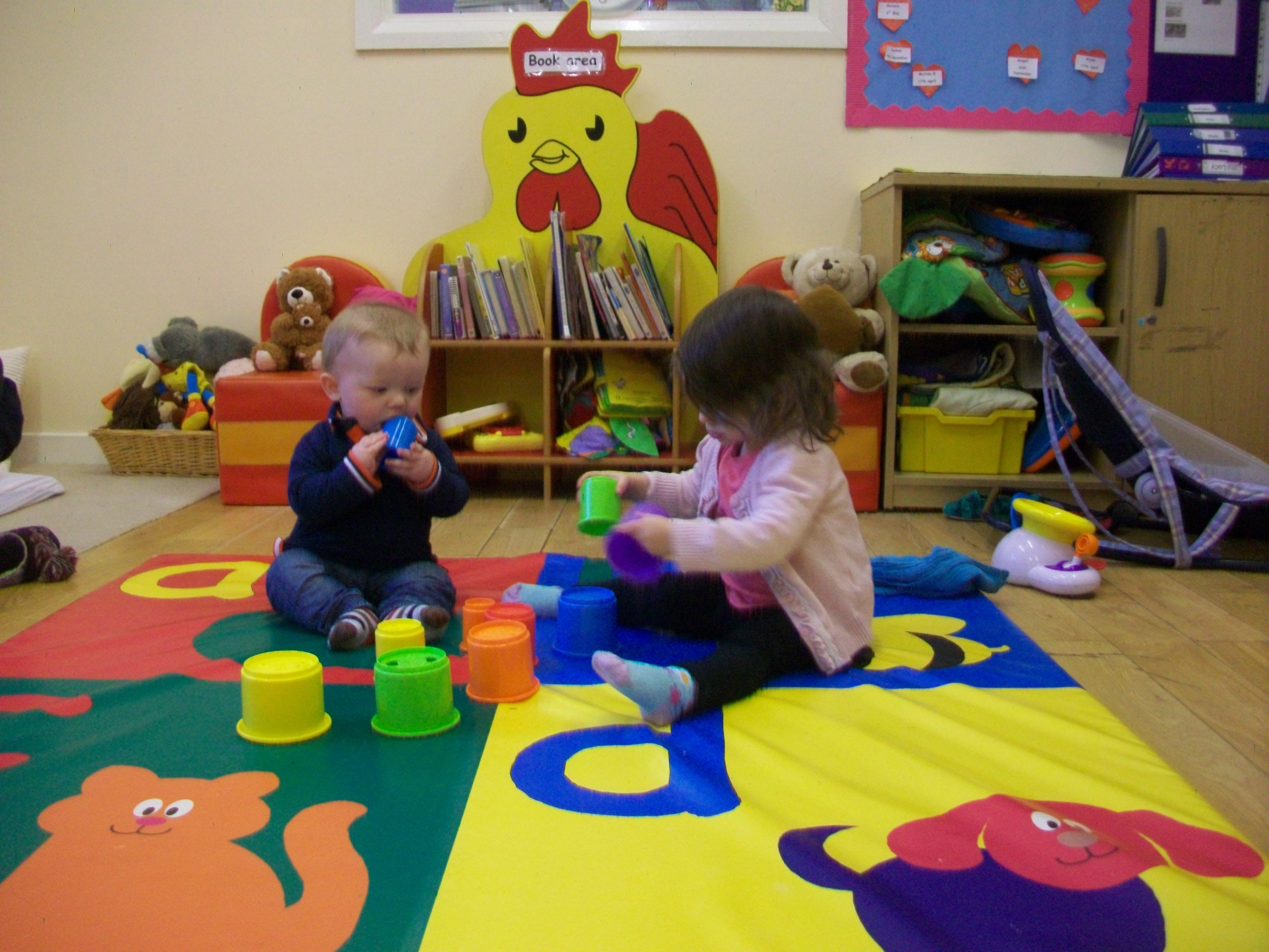 Baby Room Footprints Day Nursery